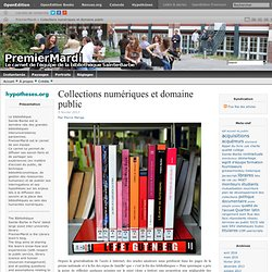 Collections numériques et domaine public