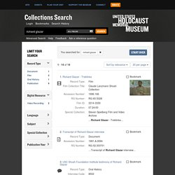 USHMM Collections Search Search Results
