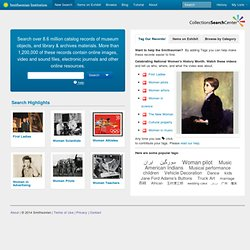 Collections Search Center, Smithsonian Institution