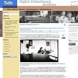 Blog – Digital Collections and Archives - Tufts University