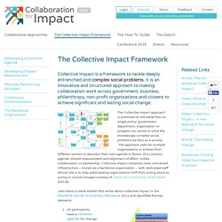 The Collective Impact Framework