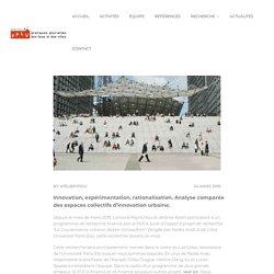 Urbinno (PUCA) : lancement d'une recherche collective sur les espaces collectifs d'innovation urbaine – Atelier PPLV