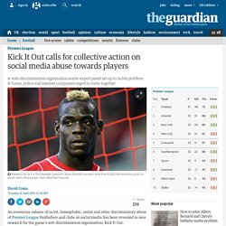 Kick It Out calls for collective action on social media abuse towards players...