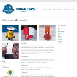 Urban Paper Collective » Marshall Alexander