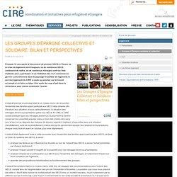 Les groupes d'épargne collective et solidaire: bilan et perspectives
