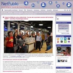 Créez le fablab de votre collectivité : Succès de la première session de formation CNFPT – Carrefour Numérique2 (Paris)