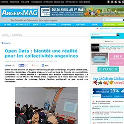 Open Data : bientôt une réalité pour les collectivités angevines