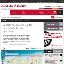 Collectivités bretonnes : des marchés publics en opendata ...