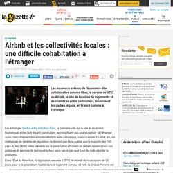 Airbnb et les collectivités locales : une difficile cohabitation à l'étranger