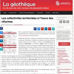 Collectivités territoriales, réforme, régions, intercommunalité