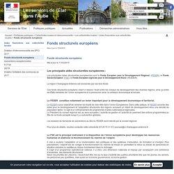 Fonds structurels européens / Aides financières aux collectivités locales / Les collectivités locales / Collectivités locales et intercommunalité / Politiques publiques / Accueil - Les services de l'État dans l'Aube