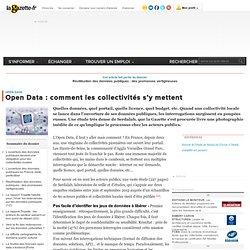 Open Data : comment les collectivités s'y mettent