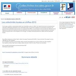 Les collectivités locales en chiffres 2013