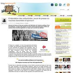 E-réputation des collectivités: revue de presse ou nouveau baromètre d'opinion?
