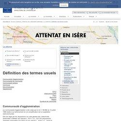 Définition des termes usuels / La réforme / Réforme des collectivités territoriales / Archives