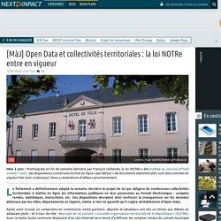 La transparence sur les données des collectivités territoriales définitivement votée