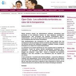 Open Data : Les collectivités territoriales au cœur de la transparence (Notions-Cles.OpenDataLescollectivitesterritorialesaucoeurdelatransparence) - CNFPT