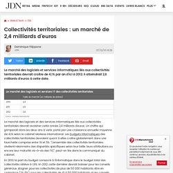 Collectivités territoriales : un marché de 2,4 milliards d'euros