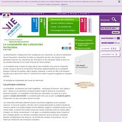La comptabilité des collectivités territoriales