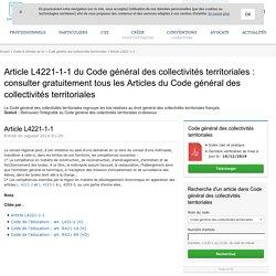 Article L4221-1-1 du Code général des collectivités ...
