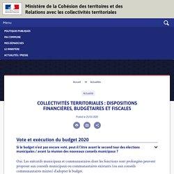 Ministère de la Cohésion des territoires et des Relations avec les collectivités territoriales