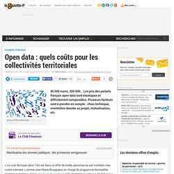 Open data : quels coûts pour les collectivités territoriales