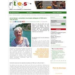 Annie Berger, conseillère municipale déléguée à l'ESS de la ville de Caen.