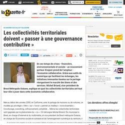 """Les collectivités territoriales doivent """"passer à une gouvernance contributive"""""""