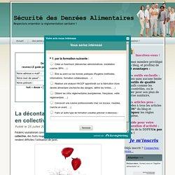 BLOG HYGIENE SECURITE DES DENREES ALIMENTAIRES 25/07/14 La décontamination des fruits rouges en collectivité