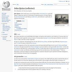 John Quinn (collector)