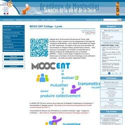 Formation en ligne: MOOC ENT Collège - Lycée