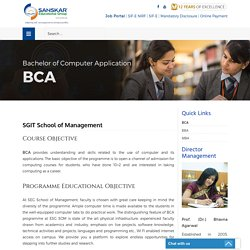 Top Ranked and the Best BCA College Affiliated to IP University
