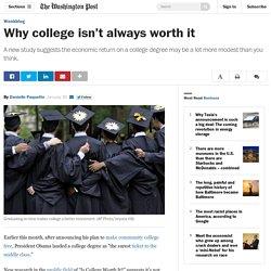 Why college isn't always worth it