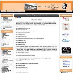 Site du collège Arthur Rimbaud 74 - CDI. - Sites d'images et sons libres de droit