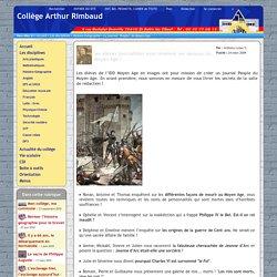"""Collège Arthur Rimbaud - Le journal """"People"""" du Moyen Age"""