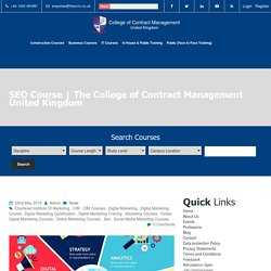 The College of Contract Management United Kingdom