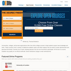Open Education Database