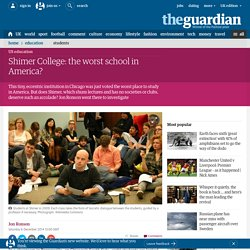 Shimer College: the worst school in America?