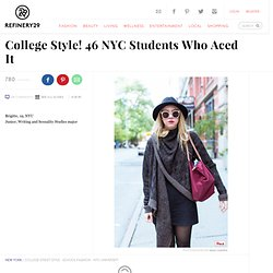 College Style - School Spirit Outfits