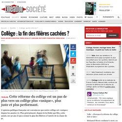 Collège : la fin des filières cachées ?