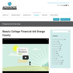 Beauty College Tuition & Financial Aid Overview Orange County