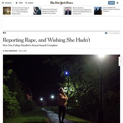 How One College Handled a Sexual Assault Complaint