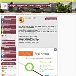 Collège Jacques de Tristan - Cléry St André - EMI 6e 2020-2021