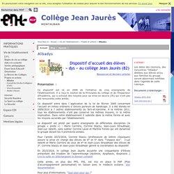 Collège Jean Jaurès - Albadys