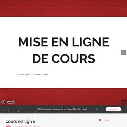 cours en ligne by College Maurice Genevoix on Genial.ly