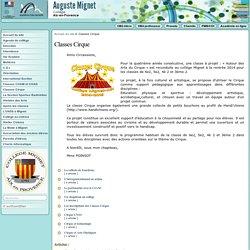 Collège Mignet - Classes Cirque