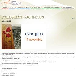Collège Mont-Saint-Louis - Collège Mont-Saint-Louis