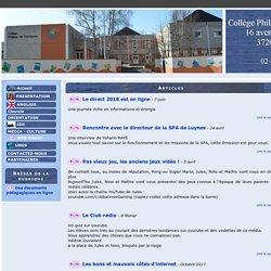 Collège Philippe de Commynes (Tours) - WEB RADIO