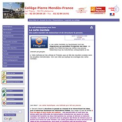 [Collège Pierre MENDES-FRANCE] La carte mentale