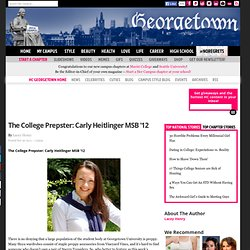 The College Prepster: Carly Heitlinger MSB '12